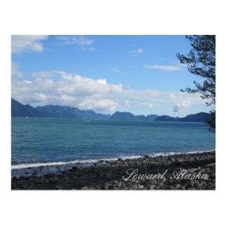 Cartão Postal Baía da ressurreição em Seward, Alaska
