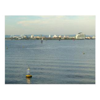 Cartão Postal Baía de Cardiff