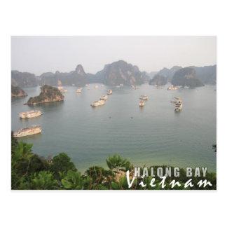 Cartão Postal Baía de Halong, Vietnam