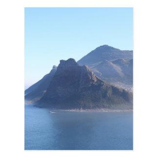 Cartão Postal Baía de Hout, África do Sul