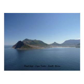 Cartão Postal Baía de Hout - Cape Town - África do Sul