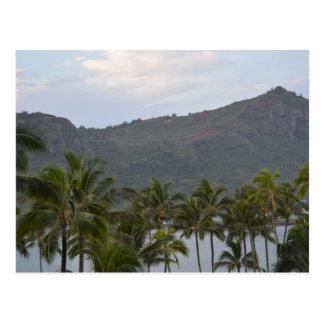 Cartão Postal Baía de Kalapaki em Kauai