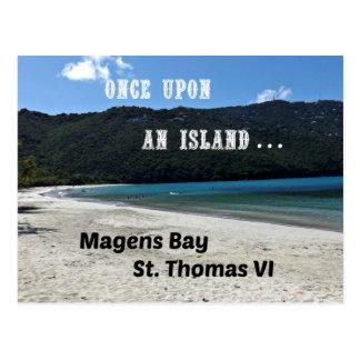 Cartão Postal Baía de Magens, St Thomas VI