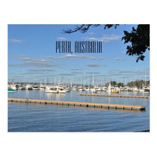 Cartão Postal Baía de Matilda, Perth, Austrália