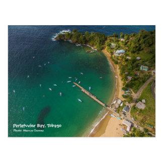 Cartão Postal Baía de Parlatuvier - viagem Tobago W.I.
