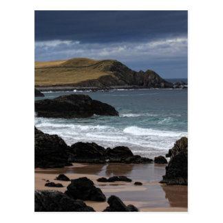 Cartão Postal Baía de Sango, Sutherland, Scotland