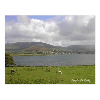 Cartão Postal Baía do Dingle, Kerry do Co.