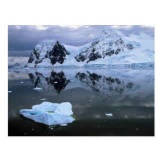 Cartão Postal Baía do paraíso, a Antártica