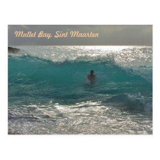 Cartão Postal Baía do salmonete, SXM