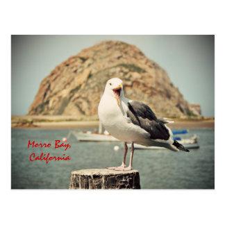 Cartão Postal Baía gritando de Morro da gaivota, Califórnia