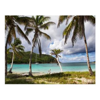 Cartão Postal Baía Mayreau de Saltwhistle, Grenadines
