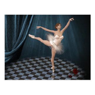 Cartão Postal bailarina