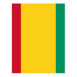 Cartão Postal Baixo custo! Bandeira da Guiné