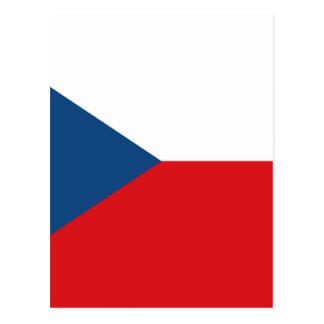 Cartão Postal Baixo custo! Bandeira da república checa