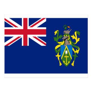 Cartão Postal Baixo custo! Bandeira das Ilhas Pitcairn