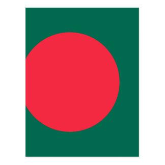 Cartão Postal Baixo custo! Bandeira de Bangladesh