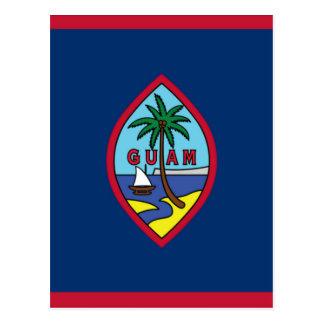Cartão Postal Baixo custo! Bandeira de Guam