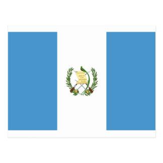 Cartão Postal Baixo custo! Bandeira de Guatemala