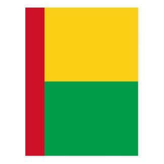 Cartão Postal Baixo custo! Bandeira de Guiné-Bissau