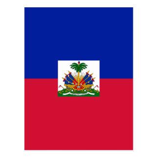 Cartão Postal Baixo custo! Bandeira de Haiti