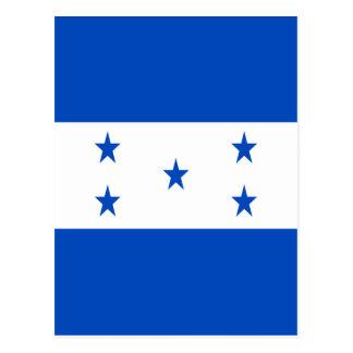 Cartão Postal Baixo custo! Bandeira de Honduras