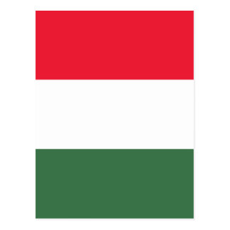 Cartão Postal Baixo custo! Bandeira de Hungria