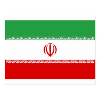 Cartão Postal Baixo custo! Bandeira de Irã
