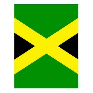Cartão Postal Baixo custo! Bandeira de Jamaica