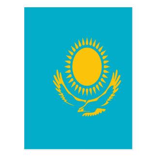 Cartão Postal Baixo custo! Bandeira de Kazakhstan