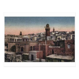 Cartão Postal Baku velho - vista