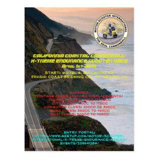 Cartão Postal Bala de canhão litoral de MSILSF Califórnia