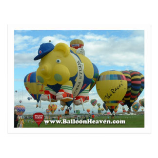 Cartão Postal Balão ABQ-419
