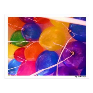 Cartão postal - balão aerostático II