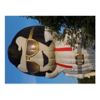 Cartão Postal Balão de ar quente em Binghamton, NY