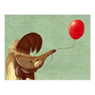 Cartão Postal Balão de viagem
