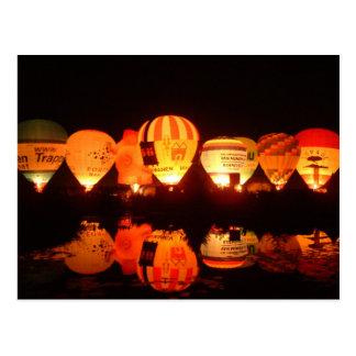 Cartão Postal Balão glow-2