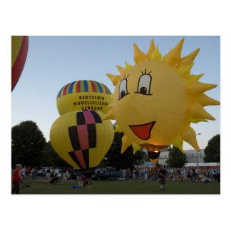 Cartão Postal Balão modelballon-1