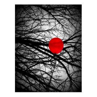 Cartão Postal Balão vermelho