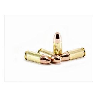 Cartão Postal balas de 9mm