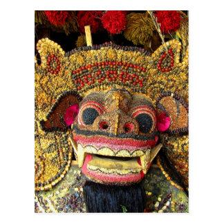 Cartão Postal Balinese Barong 2