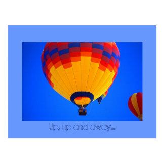 Cartão Postal Ballons do ar quente