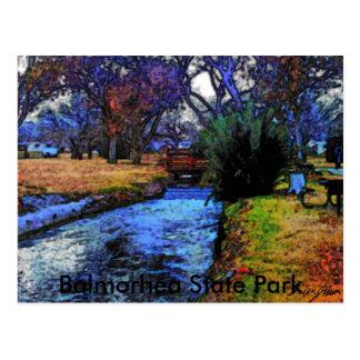 Cartão Postal Balmorhea, Texas 001a, parque estadual de
