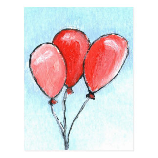 Cartão Postal Balões
