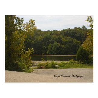 Cartão Postal Balsa de Blythe, Tennessee