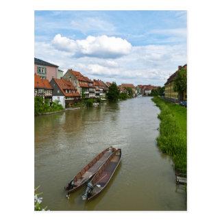 Cartão Postal Bamberga