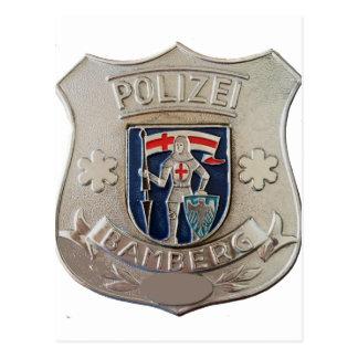 Cartão Postal Bamberga Polizei