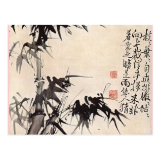 Cartão Postal Bambu de Hsu Wei