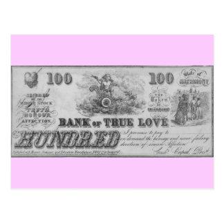 Cartão Postal Banco do amor verdadeiro