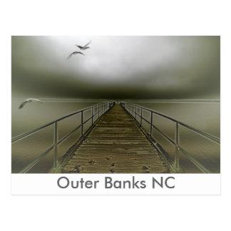 Cartão Postal Bancos exteriores NC