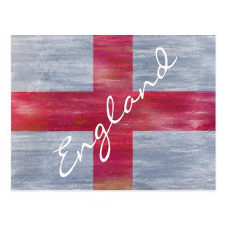 Cartão Postal Bandeira afligida Inglaterra do inglês
